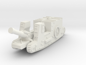 Mk I Gun Carrier (UK) in White Natural Versatile Plastic