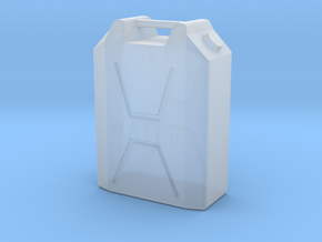 1/35 MILITARY 22lt PLASTIC WATER JERRY CAN in Smoothest Fine Detail Plastic