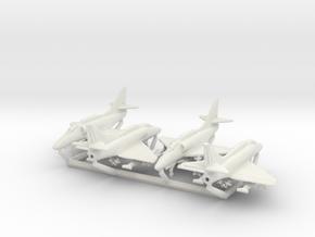 A-4F w/Gear x4 in White Natural Versatile Plastic: 1:350