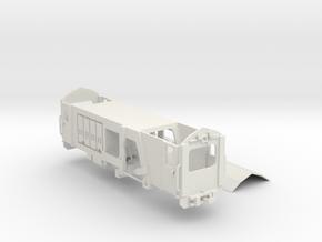 F&WHR track tamping maintenance machine in White Natural Versatile Plastic