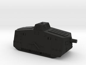 A7V Tank (Germany) in Black Premium Versatile Plastic