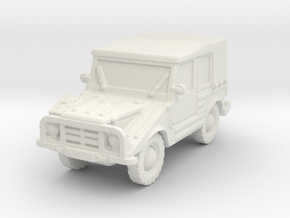 DKW Munga 6 scale 1/100 in White Natural Versatile Plastic