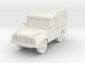 DKW Munga 8 scale 1/87 in White Natural Versatile Plastic