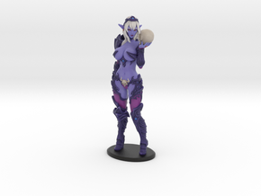 Dark Queen Syx VARIANT - 200mm (approx 8 inches) in Matte Full Color Sandstone
