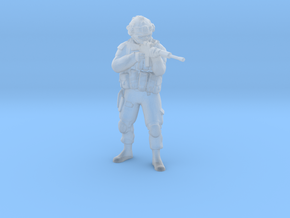 Soldier 8 no base (1:64 Scale) in Smooth Fine Detail Plastic