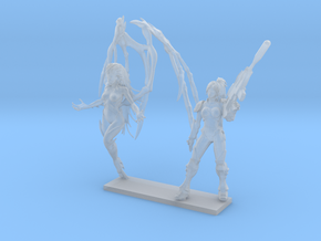 Custom Size Ghost and Queen  in Smooth Fine Detail Plastic