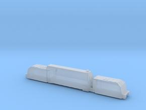 panzerzug 64 1/144 panzerlok armoured train  in Smooth Fine Detail Plastic