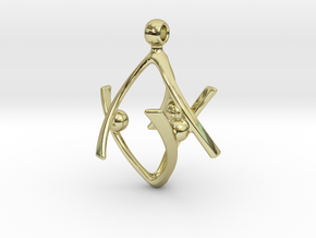 SIXTINIA in 18k Gold Plated Brass