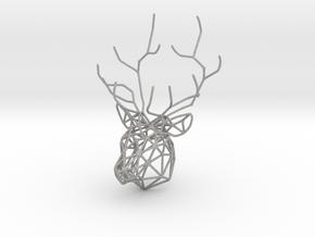 Deer pendant in Aluminum