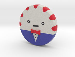 mini Peppermint Butler no arms and no legs in Full Color Sandstone: Small