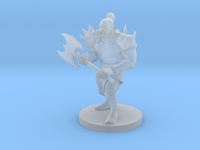 Orc Warrior in Smooth Fine Detail Plastic