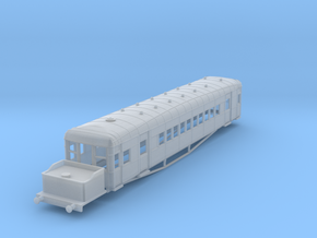 o-148fs-lner-clayton-steam-railcar-d91 in Smooth Fine Detail Plastic