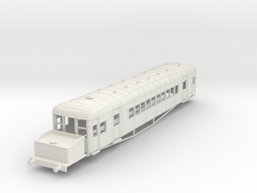 o-87-lner-clayton-steam-railcar-d91 in White Natural Versatile Plastic
