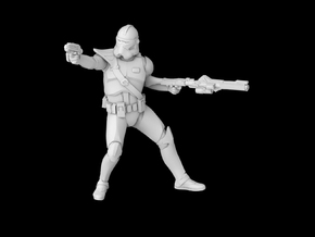 (Legion) Clone Commander Fordo in Smooth Fine Detail Plastic