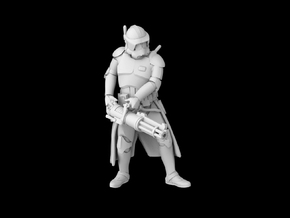 (1/47) Clone Commander Thorn in Smooth Fine Detail Plastic