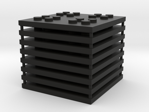 6 x 6 Mason Set in Black Natural Versatile Plastic