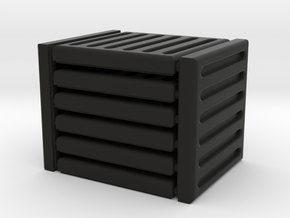 3 x 3 Grate Set in Black Natural Versatile Plastic