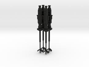 PRHI PotF2 X-wing Blasters in Black Natural Versatile Plastic