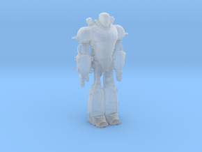 Fallout 4 Liberty Prime in Smooth Fine Detail Plastic