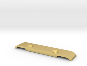MO26-1.2 - TL-01 droop block  in Polished Brass