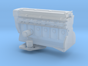 1/24 2JZ engine part 2 in Smooth Fine Detail Plastic