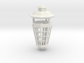 1:24 scale Age of Sail Stern Lantern in White Natural Versatile Plastic