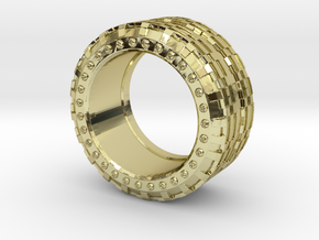 mojomojo - Industrial Series 1A in 18k Gold Plated Brass