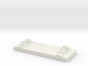 The Original Nautilus Submarine BASE section in White Natural Versatile Plastic