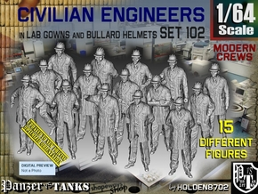 1/64 Engineers Set102 in Smooth Fine Detail Plastic
