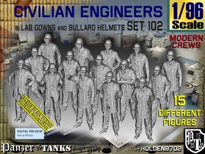 1/96 Engineers Set102 in Smooth Fine Detail Plastic