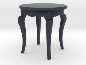 Miniature Stolik Brunello AX512 Chair  - Brunello in Black PA12: 1:12