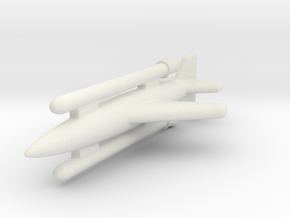 """(1:144) Henschel Hs 117 """"Schmetterling"""" S IIc in White Natural Versatile Plastic"""