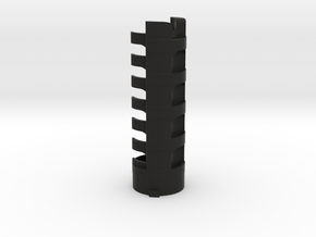 Rudy Pando V3 battery holder in Black Natural Versatile Plastic
