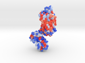 Neurotensen Receptor 4GRV in Glossy Full Color Sandstone: Small
