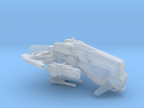 Cicada Class Gunship in Smooth Fine Detail Plastic