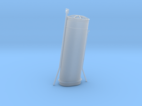 1/96 HMS Garland Funnel 1 in Smooth Fine Detail Plastic