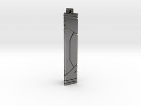 Xel'naga Keystone in Polished Nickel Steel