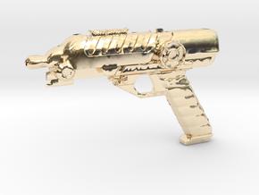 Scifi Blaster Z aprox 1:12 in 14K Yellow Gold