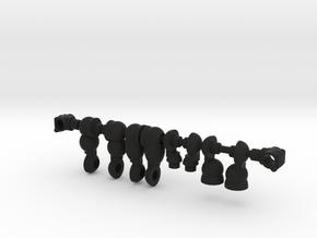 Spartak Sovereign Acroyear in Black Natural Versatile Plastic