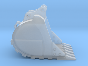 """1:50 48"""" HD Bucket for 20 Ton excavator models.  in Smooth Fine Detail Plastic"""