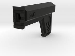 Hexa Blade Brace (116mm Long) in Black Natural Versatile Plastic
