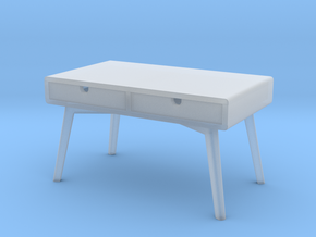 Miniature Ketchikan Coffee Table - Yelkkin Dom  in Smooth Fine Detail Plastic: 1:12