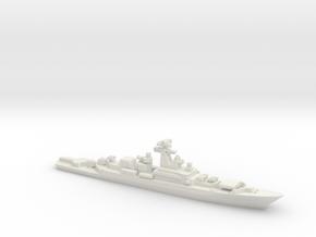 Krivak I-class frigate, 1/2400 in White Natural Versatile Plastic