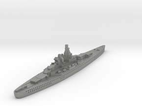 Alsace Class Battleship (France) Global War Scale in Gray PA12