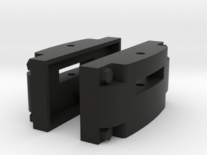 Motor Rail G-series coupling - 7/8ths scale in Black Natural Versatile Plastic
