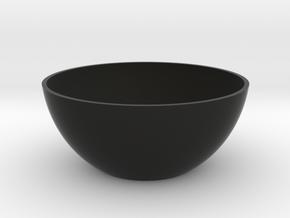 Minimalist Vase in Black Natural Versatile Plastic