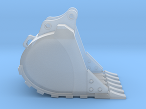"1:50 48"" Bucket for 20 Ton excavator models.  in Smooth Fine Detail Plastic"