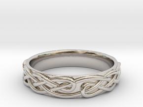 Ornament ring 1 in Platinum: 5.5 / 50.25