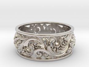 Ornament ring 2 in Platinum: 6.5 / 52.75