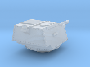 28mm Praetorian APC Turret in Smooth Fine Detail Plastic